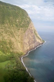 Hawaiian Coast by Copter